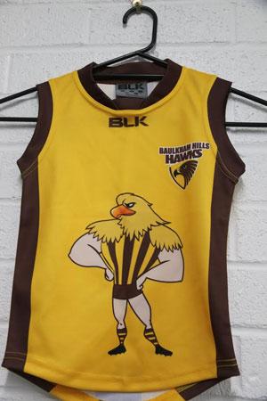 Hawks Auskick guernsey