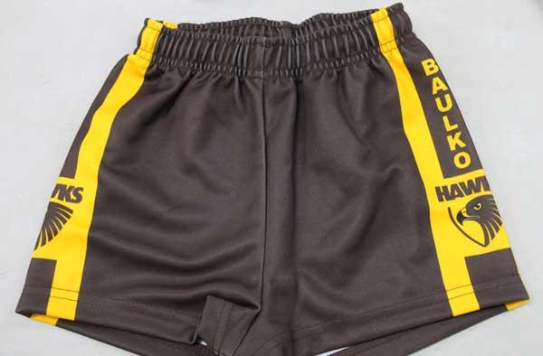 Boys training shorts